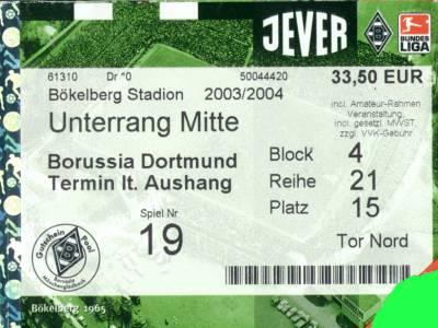 Dortmund Gladbach Tickets