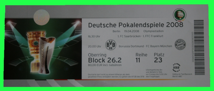 Dfb Pokalfinal Tickets