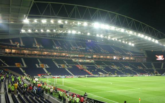Estadio do Dragão (Porto) - Längsseite
