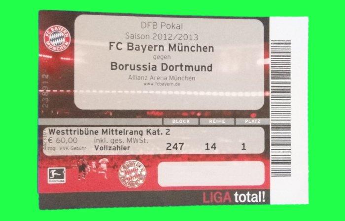 Bayern Dortmund Tickets