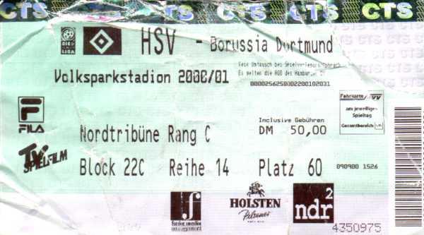 Dortmund Hsv Tickets