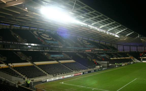 KC Stadium - West Stand