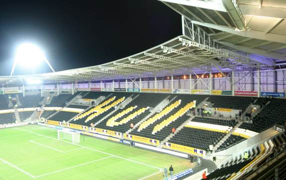 KC Stadium - South Stand