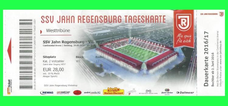 jahn regensburg ticket