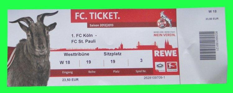 1 Fc Köln Vip Tickets