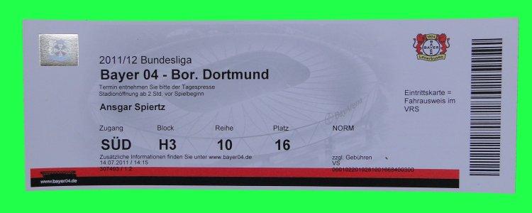 Ticket Leverkusen