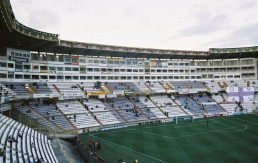 Estadio José Zorrilla - Kurve
