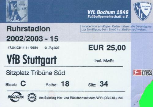 tickets vfl bochum