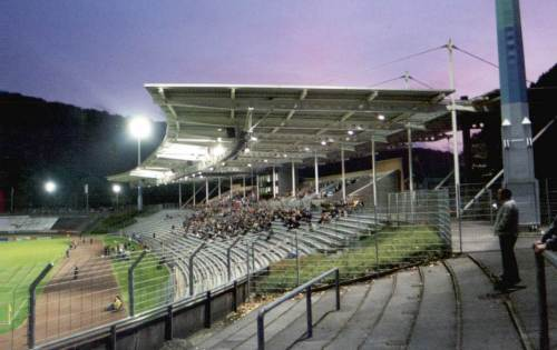 Stadion am Zoo - Tribüne